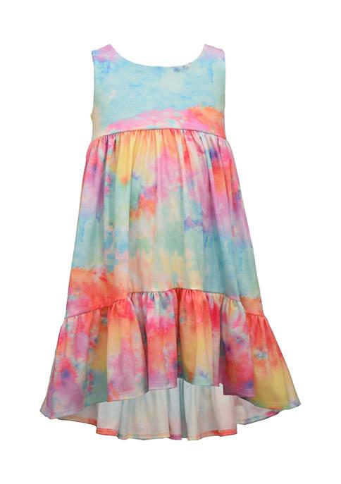 Bonnie Jean Toddler Girls Tie Dye Dress
