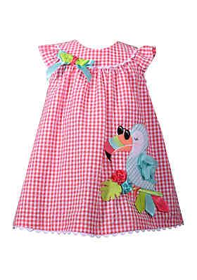 e08c084beef8 Bonnie Jean Toddler Girls Toucan Seersucker Dress ...