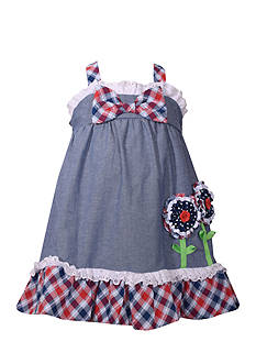 Bonnie Jean Chambray Dress Toddler Girls