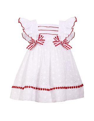 2b10128dd48 Bonnie Jean. Bonnie Jean Baby Girls White Eyelet Dress