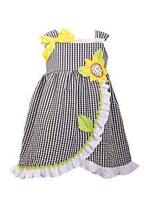 Bonnie Jean Baby Girls Seersucker Daisy Dress