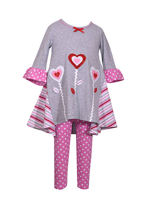 Bonnie Jean 2-piece Valentines Day Set Infant Girls