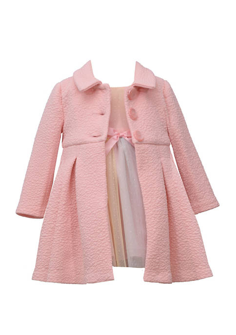 Bonnie Jean Toddler Girls Coat Dress