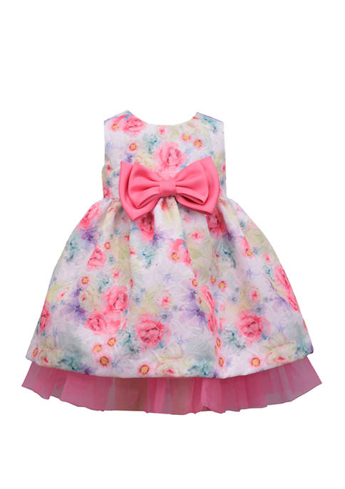 Bonnie Jean Toddler Girls Sleeveless Bow Party Dress