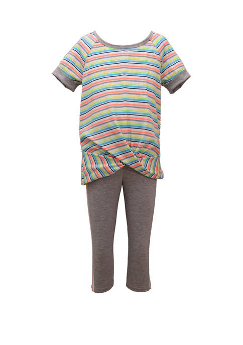 Bonnie Jean Toddler Girls Cross Over Top and