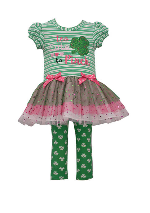 Bonnie Jean Toddler Girls St. Patricks Day Legging