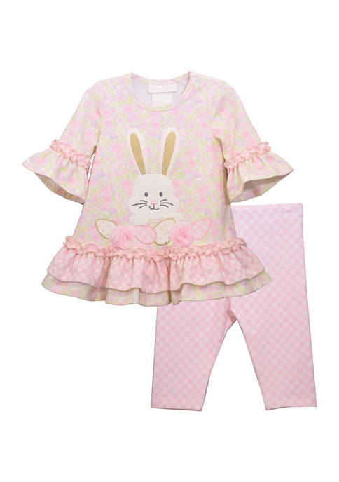 Toddler Girls Bunny Legging Set