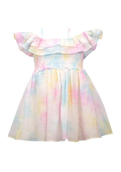 Bonnie Jean Baby Girls Tie Dye Dress