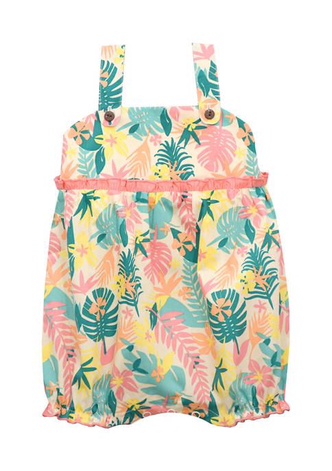 Baby Girls Tropical Romper