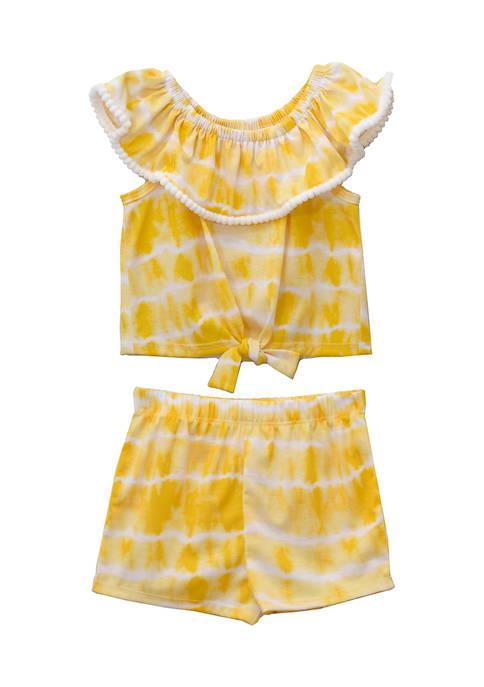 Bonnie Jean Baby Girls Tie Dye Set