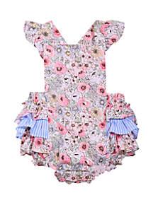 4ce4ab79236f ... Bonnie Jean Baby Girls Ruffle Bubble Dress