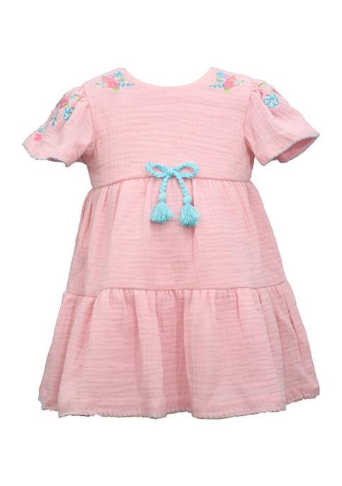 Bonnie Jean Toddler Girls Peasant Dress