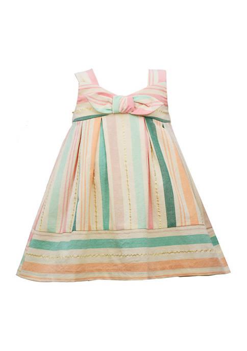 Bonnie Jean Toddler Girls Sleeveless Striped Dress