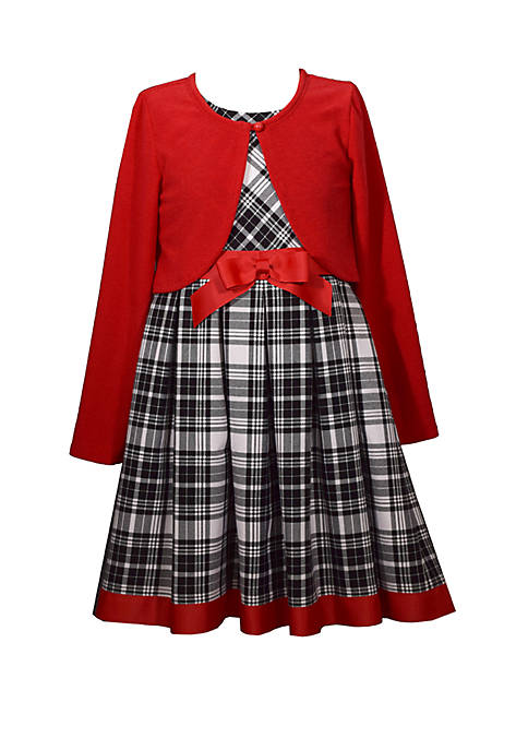 Bonnie Jean Toddler Girls Plaid Dress