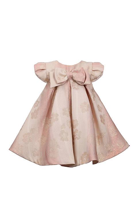Bonnie Jean Toddler Girls Sleeveless Jacquard Box Pleat
