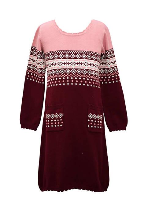 Girl 4-6x Sweater Dress