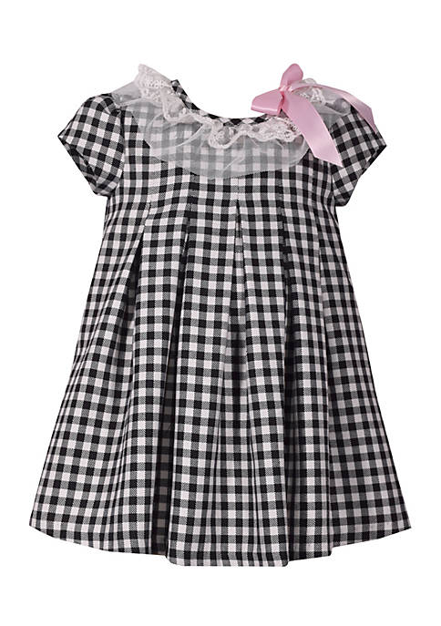 Bonnie Jean Infant Girls Check Dress