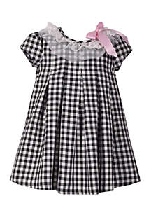 Infant Girls Check Dress