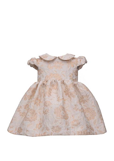 Bonnie Jean Toddler Girls Jacquard Empire Dress