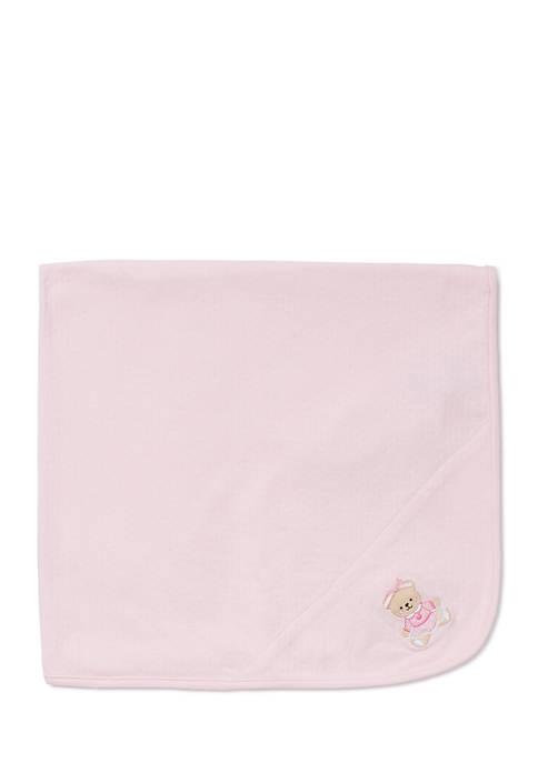 Little Me Sweet Bear Blanket