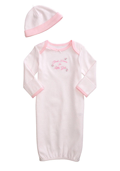 Little Me Thank Heaven For Little Girls Gown