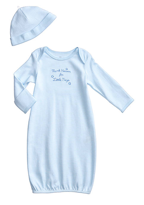 Little Me Thank Heaven For Little Boys Gown