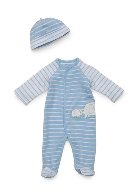 Little Me Baby Boys 2-Piece Elephant Hat and