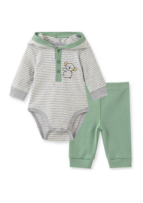 Little Me Baby Boys Koala Bodysuit Pant Set