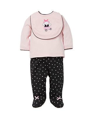 Little Me Baby Girls Ballet Pajama
