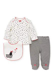 Baby Girls Dalmatian Set