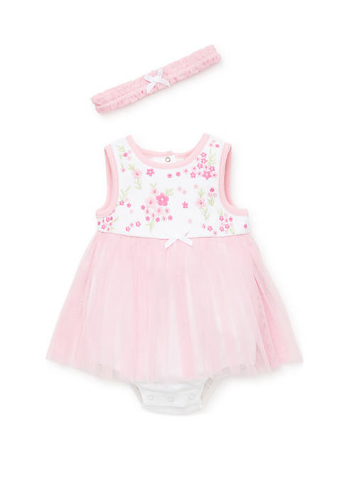 Baby Girls Blossoms Popover