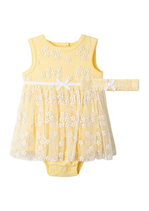 Little Me Baby Girls Daisy Popover