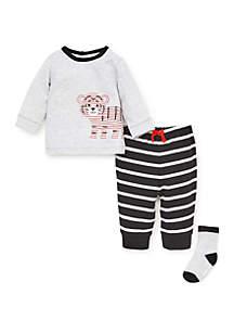 Baby Boys Tiger Jogger Set