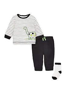 Baby Boys Dino Jogger Set