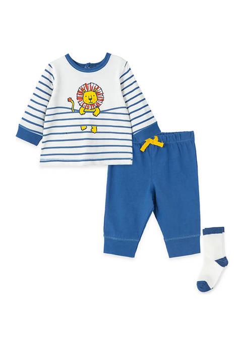 Little Me Baby Boys Lion Jogger Set