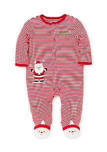 Baby Boys Santa Footie