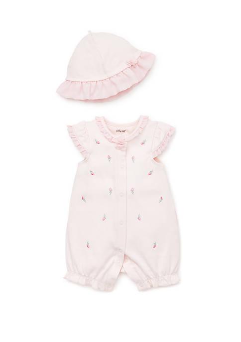 Baby Girls Rosebud Romper