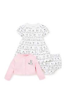 Baby Girls Bunny Dress Set