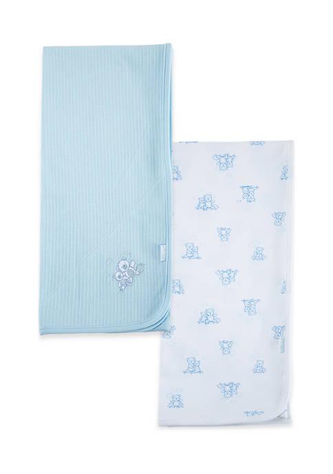 Baby Bears 2 Pack Receiving Blanket