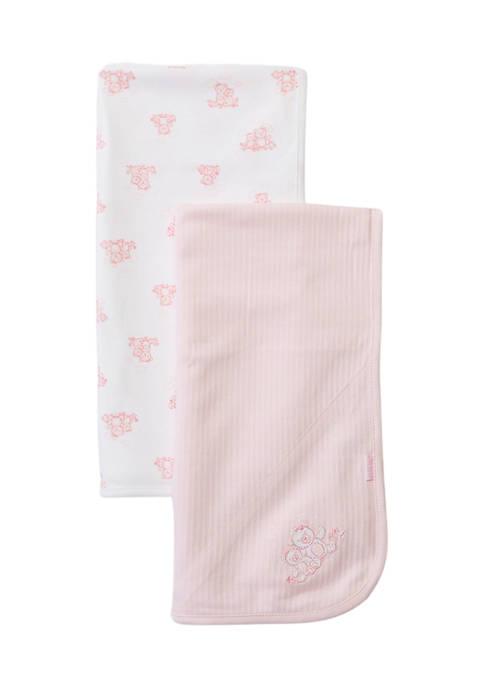 Little Me Baby Girls Wispy Bears 2 Pack