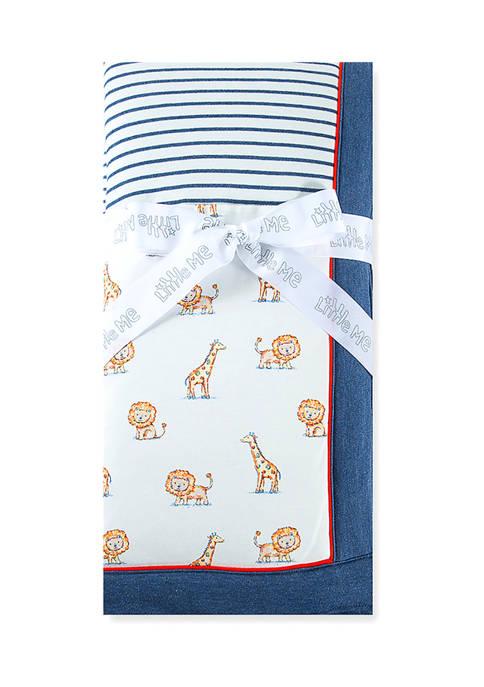Little Me Baby Boys Lion Friend Blanket