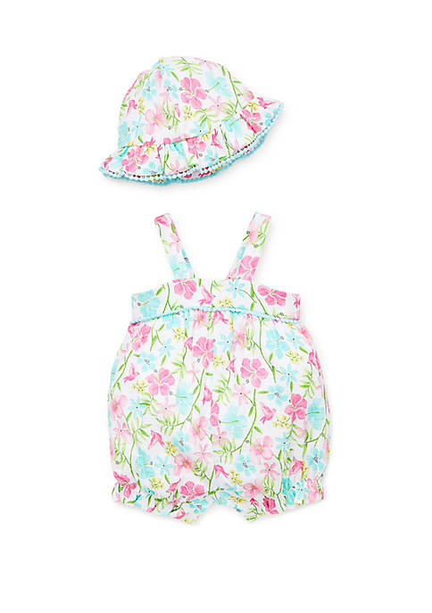 Little Me Baby Girls Paradise Sunsuit