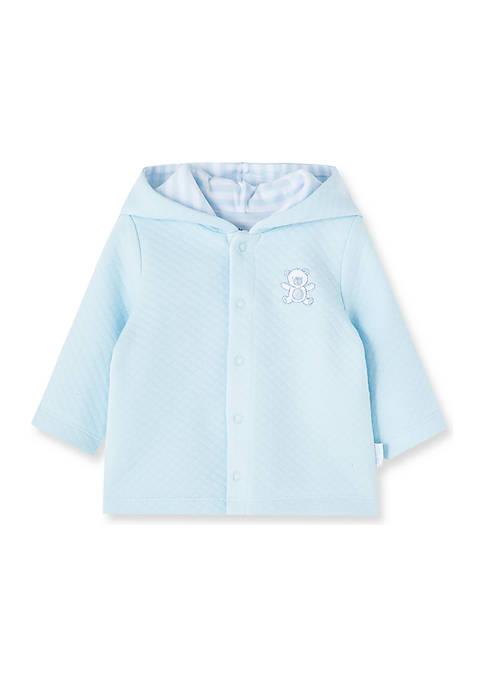 Little Me Baby Boys Bear Reversible Jacket