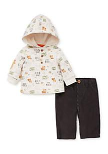 Baby Boys Woodland Pant Set