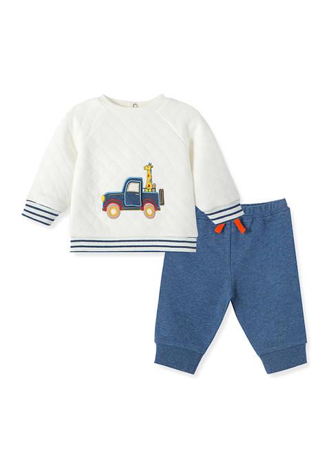 Little Me Baby Boys Jeep Pals Pants 2