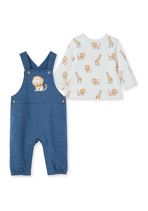 Little Me Baby Boys Jeep King Overalls 2