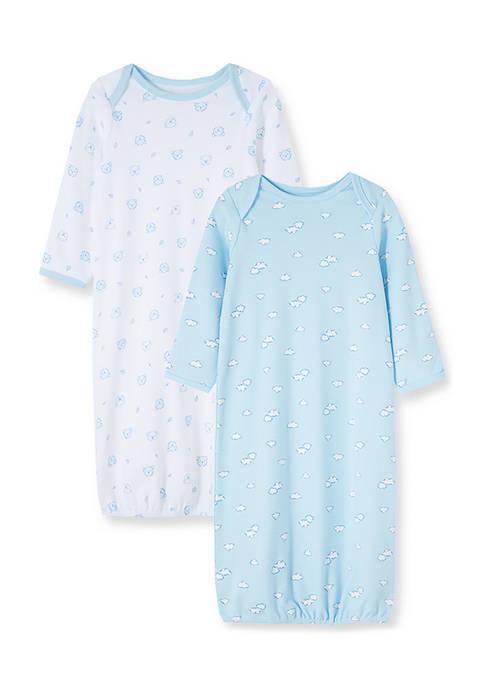 Baby Boys Dreamy Bears Gown Set