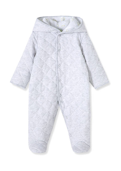 Little Me Baby Boys Clouds Quilted Pram