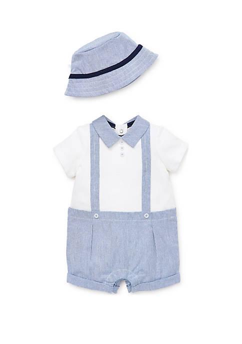Baby Boys Dressy Romper Set