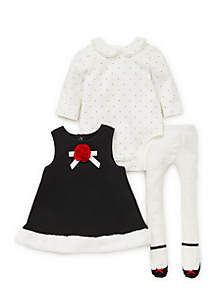 Baby Girls Rose Jumper Set